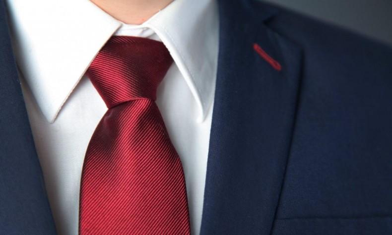 color rápido proveedor oficial muchos estilos La corbata y nudo que complementa a un hombre exitoso ...